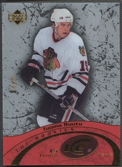 2003/04 Upper Deck Ice #124 Tuomo Ruutu Rookie #74/99