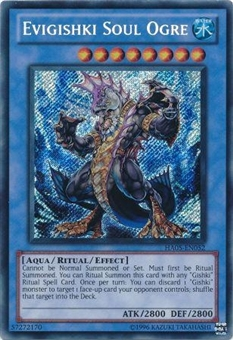 Yu-Gi-Oh Hidden Arsenal 5 Single Evigishki Soul Ogre Secret Rare