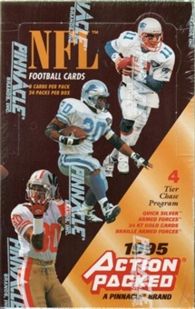 1995 Action Packed Football Hobby Box