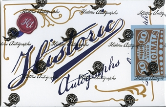 2013 Historic Autograph Originals 1909 - 1912 Baseball Hobby Box