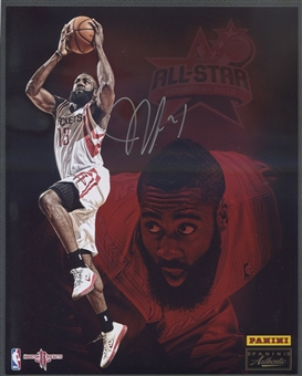 2013 Panini Authentic All Star Weekend James Harden 8x10 Auto