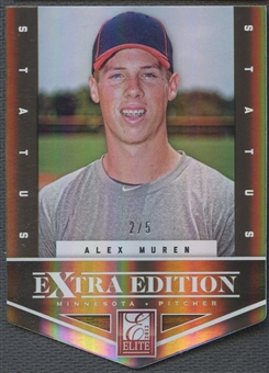 2012 Elite Extra Edition #79 Alex Muren Status Gold Rookie #2/5