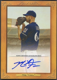 2013 Topps Turkey Red #MF Mike Fiers Auto #334/689