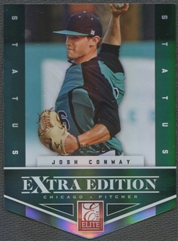 2012 Elite Extra Edition #99 Josh Conway Status Emerald Rookie #18/25