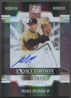 2009 Donruss Elite Extra Edition #59 Mike Minor Rookie Auto #141/570