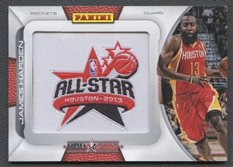 2013 Panini #JH James Harden All-Star Game Patch