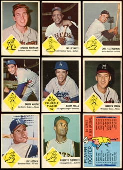 1963 Fleer Baseball Complete Set (VG-EX)