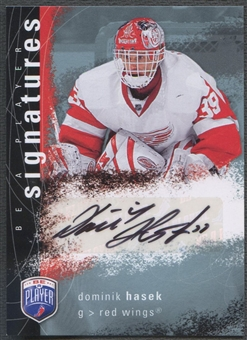 2007/08 Be A Player #SDH Dominik Hasek Signatures Auto