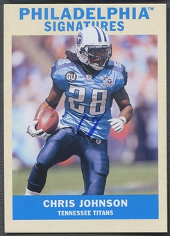 2009 Philadelphia #PSJO Chris Johnson Signatures Auto