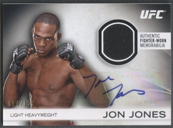 2012 Topps UFC Knockout #AFGJJ Jon Jones Fighter Relics Auto #094/150