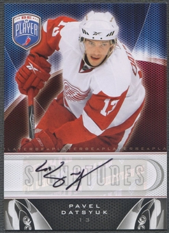 2009/10 Be A Player #SPD Pavel Datsyuk Signatures Auto