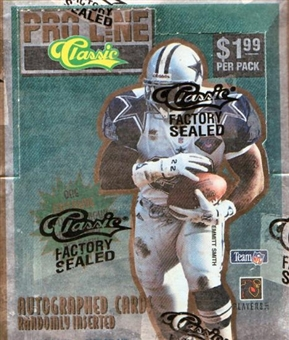 1995 Pro Line Series 1 Football Prepriced Box