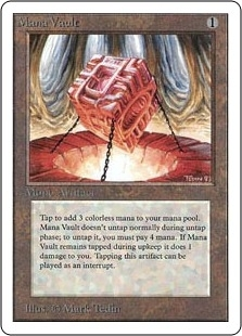 Magic the Gathering Unlimited Single Mana Vault UNPLAYED (NM/MT)
