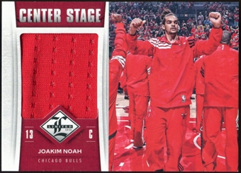 2012/13 Panini Limited Center Stage Materials #37 Joakim Noah 31/125