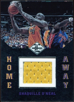 2012/13 Panini Limited Home and Away Materials #12 Shaquille O'Neal 93/99
