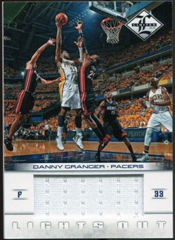 2012/13 Panini Limited Lights Out Materials #17 Danny Granger 132/199
