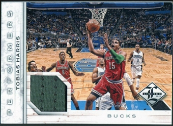 2012/13 Panini Limited Performers Materials #41 Tobias Harris /199