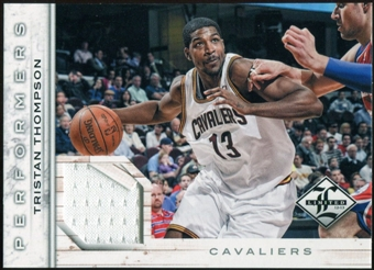 2012/13 Panini Limited Performers Materials #44 Tristan Thompson 4/199