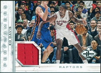 2012/13 Panini Limited Performers Materials #48 Ed Davis /199