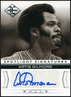 2012/13 Panini Limited Spotlight Signatures #47 Artis Gilmore Autograph 26/49