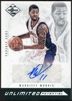 2012/13 Panini Limited Unlimited Potential Signatures #9 Markieff Morris Autograph 20/99