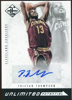 2012/13 Panini Limited Unlimited Potential Signatures #27 Tristan Thompson Autograph /199
