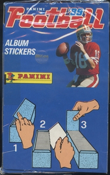1989 Panini Stickers Football Box