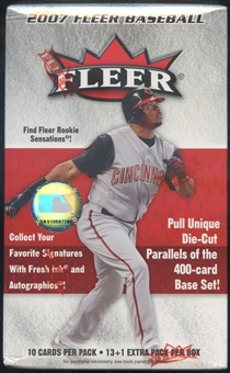 2007 Fleer Baseball Blaster Box