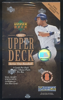 2007 Upper Deck Series 1 Baseball Blaster Box