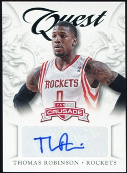 2012/13 Panini Crusade Quest Autographs #37 Thomas Robinson Autograph