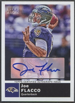 2010 Topps Magic #101 Joe Flacco Auto