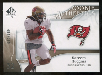2009 Upper Deck SP Authentic #237 Kareem Huggins /999