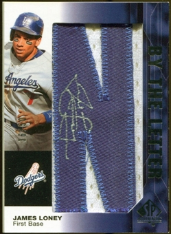 2008 Upper Deck SP Authentic By The Letter Signatures #JL James Loney 36/50
