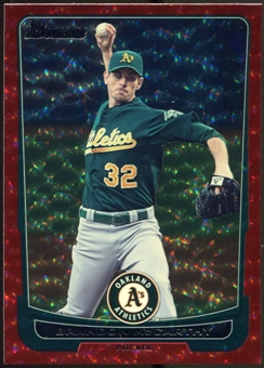 2012 Bowman Silver Ice Red #15 Brandon McCarthy /25