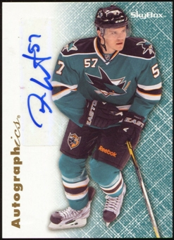 2012/13 Upper Deck Fleer Retro Autographics 1996-97 #96TW Tommy Wingels E Autograph