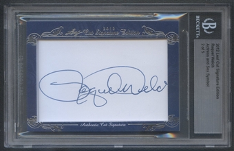 2012 Leaf Cut Signature Edition #708 Raquel Welch Cut Auto #2/5