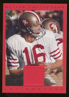 2000 Upper Deck Montana Master Collection #2 Joe Montana /250