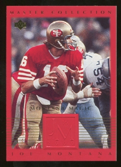 2000 Upper Deck Montana Master Collection #3 Joe Montana /250