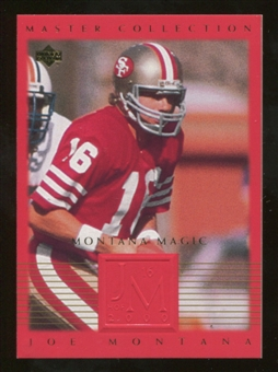 2000 Upper Deck Montana Master Collection #4 Joe Montana /250