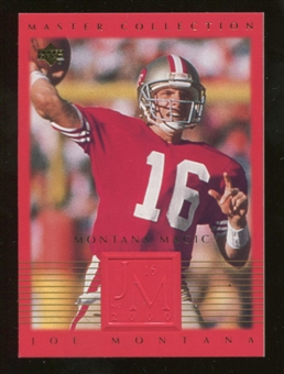 2000 Upper Deck Montana Master Collection #5 Joe Montana /250
