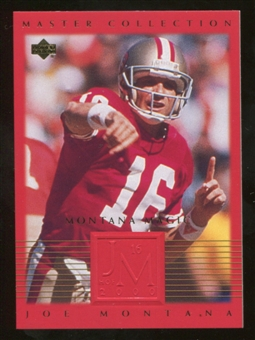 2000 Upper Deck Montana Master Collection #6 Joe Montana /250