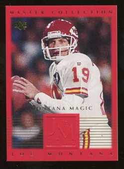 2000 Upper Deck Montana Master Collection #8 Joe Montana /250
