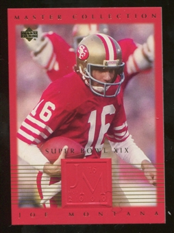 2000 Upper Deck Montana Master Collection #11 Joe Montana /250