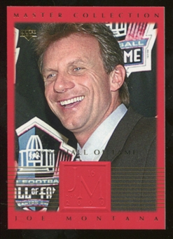 2000 Upper Deck Montana Master Collection #16 Joe Montana /250