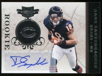2011 Plates and Patches Signatures Silver #123 Dane Sanzenbacher Autograph 35/50
