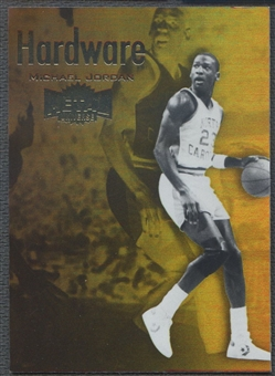 2011/12 Fleer Retro #1 Michael Jordan Metal Championship Hardware