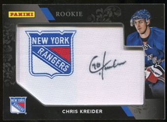 2012 Black Friday Manufactured Patch Autographs #CK Chris Kreider Autograph