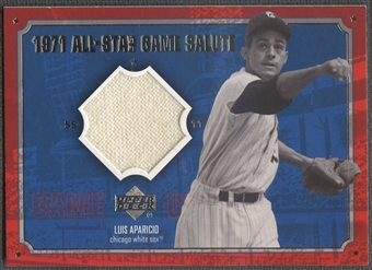 2001 Upper Deck #ASLA Luis Aparicio 1971 All-Star Game Salute Jersey