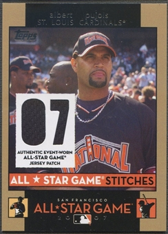 2007 Topps Update #AP Albert Pujols All-Star Stitches Jersey