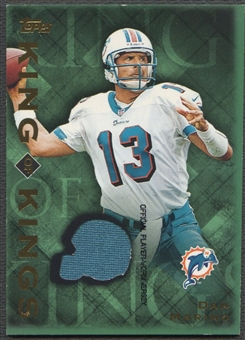 2001 Topps #KDM Dan Marino King of Kings Jersey
